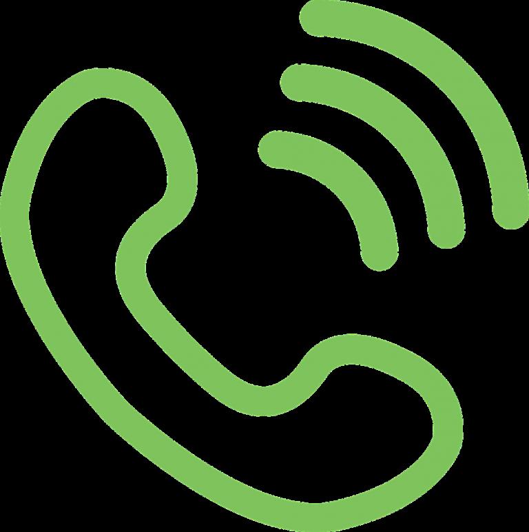 icons, phone, round
