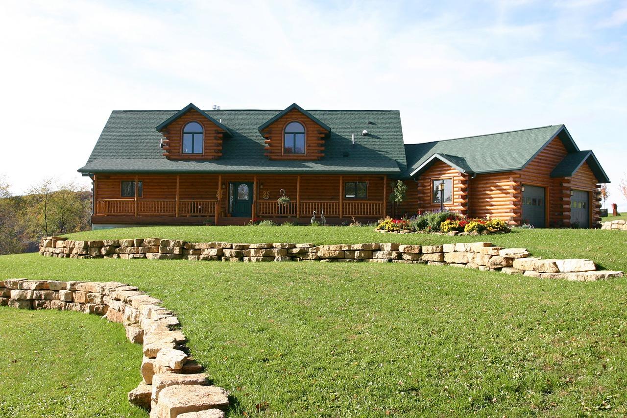 log house, log, cabin
